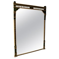 19th Century Ebonised and Gilt Aesthetic Movement Overmantel/Pier Mirror
