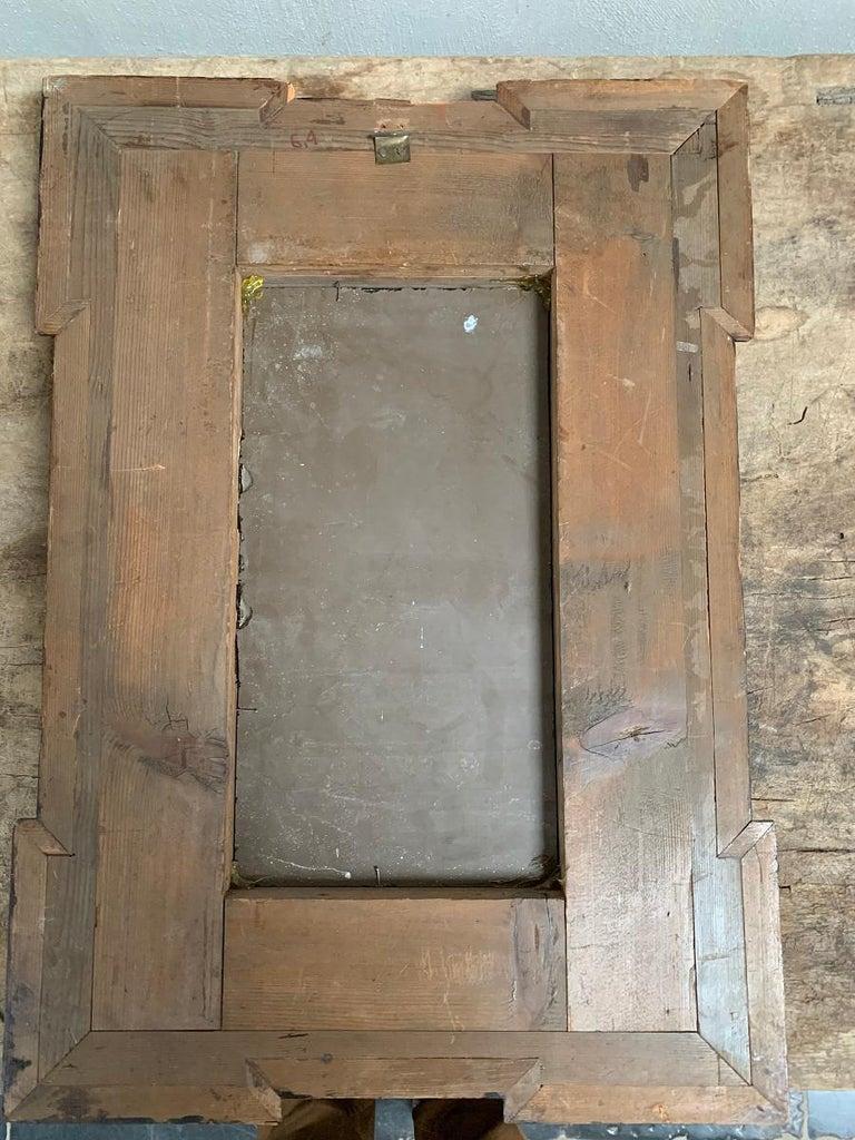19th Century Ebonised Italian Mirror For Sale 5