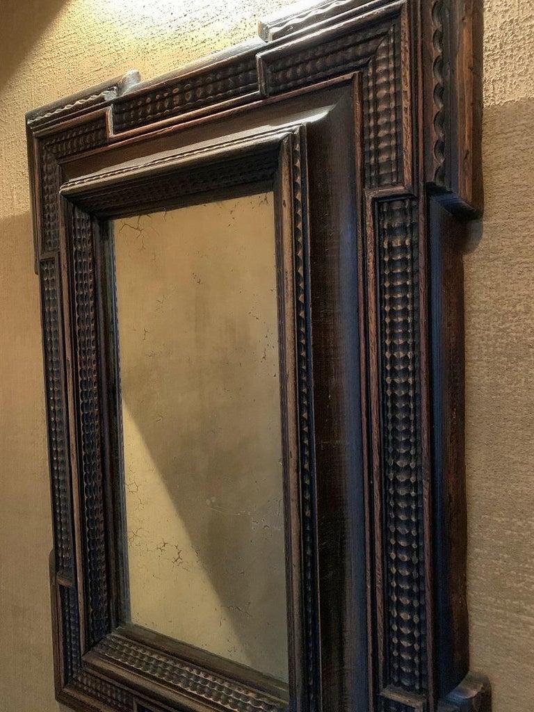 19th Century Ebonised Italian Mirror For Sale 1