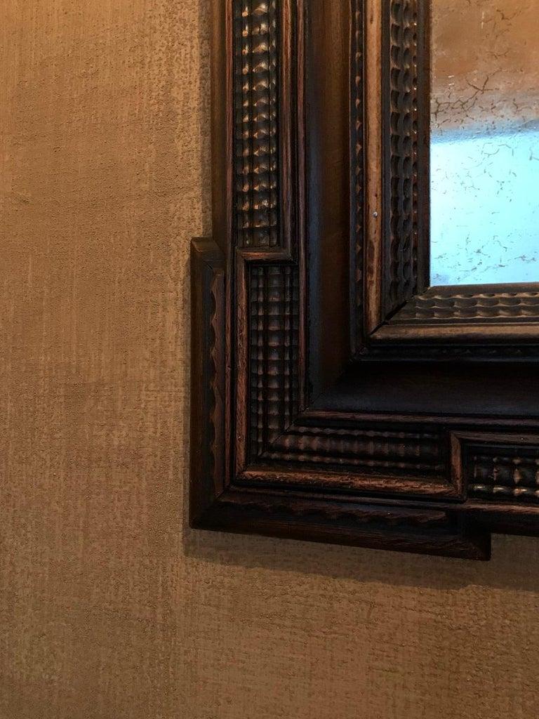 19th Century Ebonised Italian Mirror For Sale 2