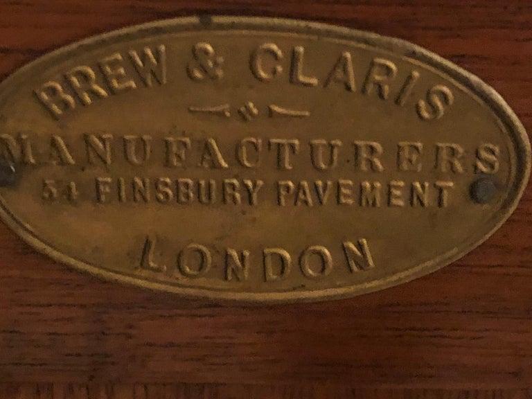 19th Century Ebonized Bronze Mounted Sideboard Vitrine with Matching Mirror 13