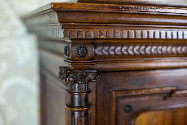 19th Century Eclectic Columnar Cabinet For Sale 7