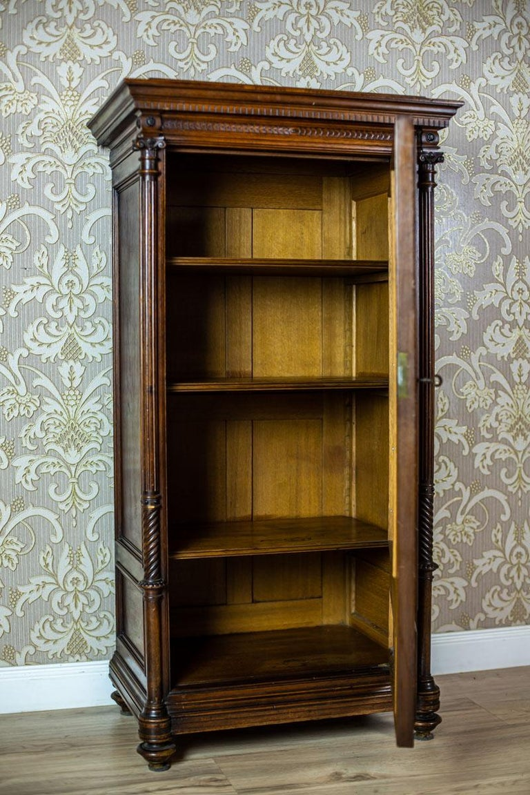 19th Century Eclectic Columnar Cabinet For Sale 2