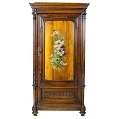 19th Century Eclectic Columnar Cabinet