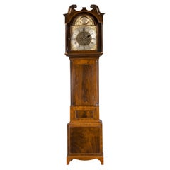 19th Century Eight Day Longcase Clock by Jas Miller, Alloa