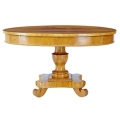 19th Century Elm Center Occasional Table