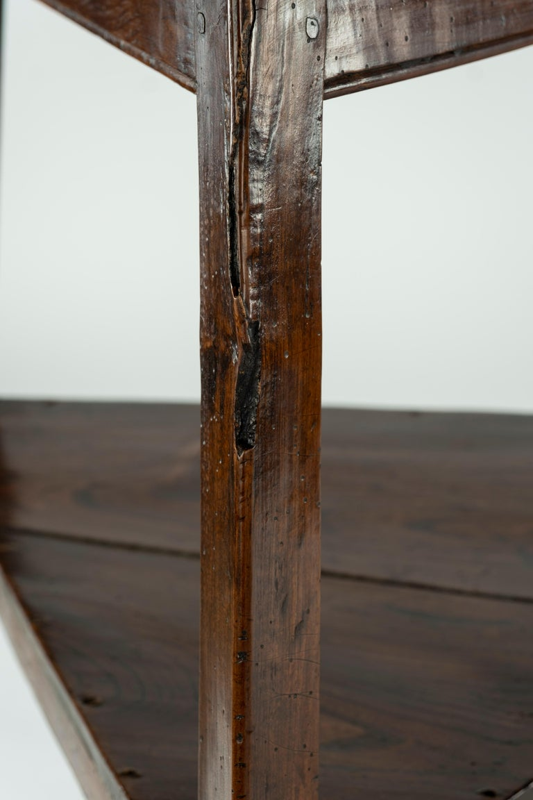 19th Century Elm Cricket Table For Sale 7