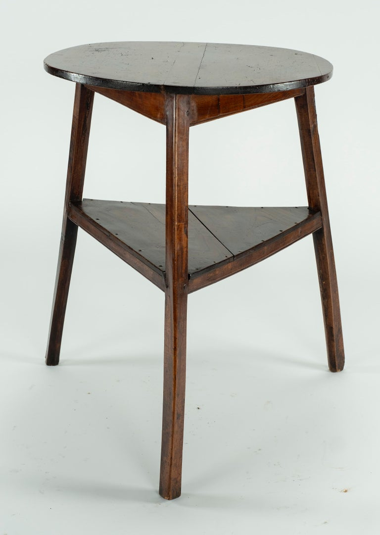 19th Century Elm Cricket Table For Sale 1