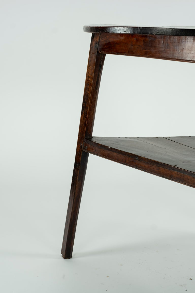 19th Century Elm Cricket Table For Sale 2
