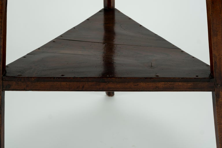 19th Century Elm Cricket Table For Sale 4