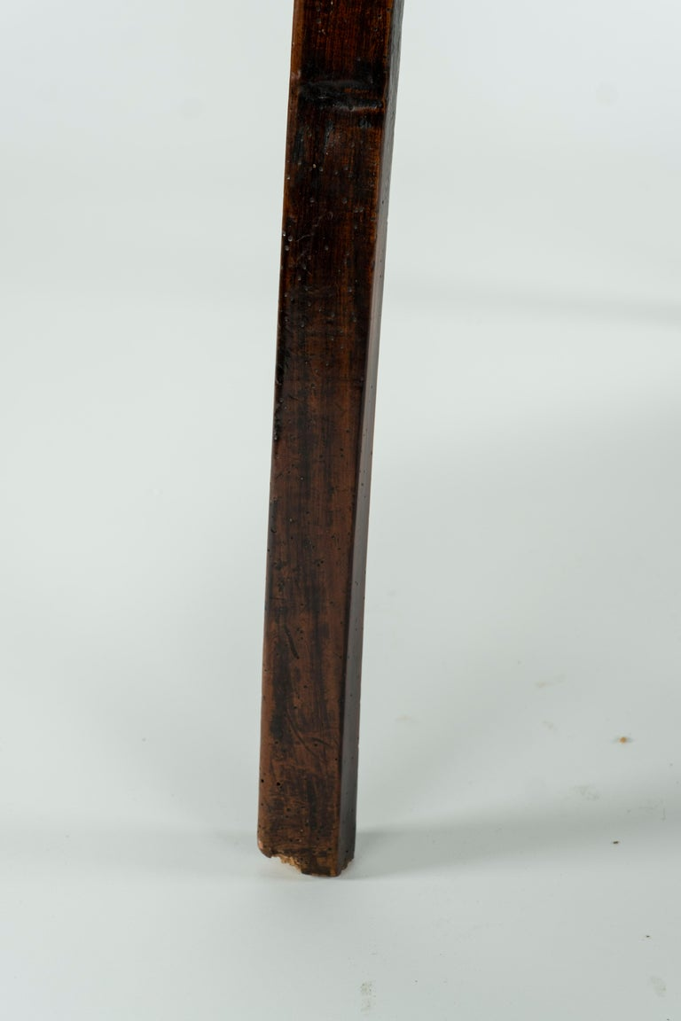 19th Century Elm Cricket Table For Sale 5