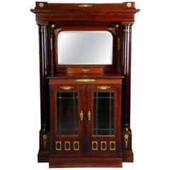 19th Century Empire Buffet Cabinet, 1890