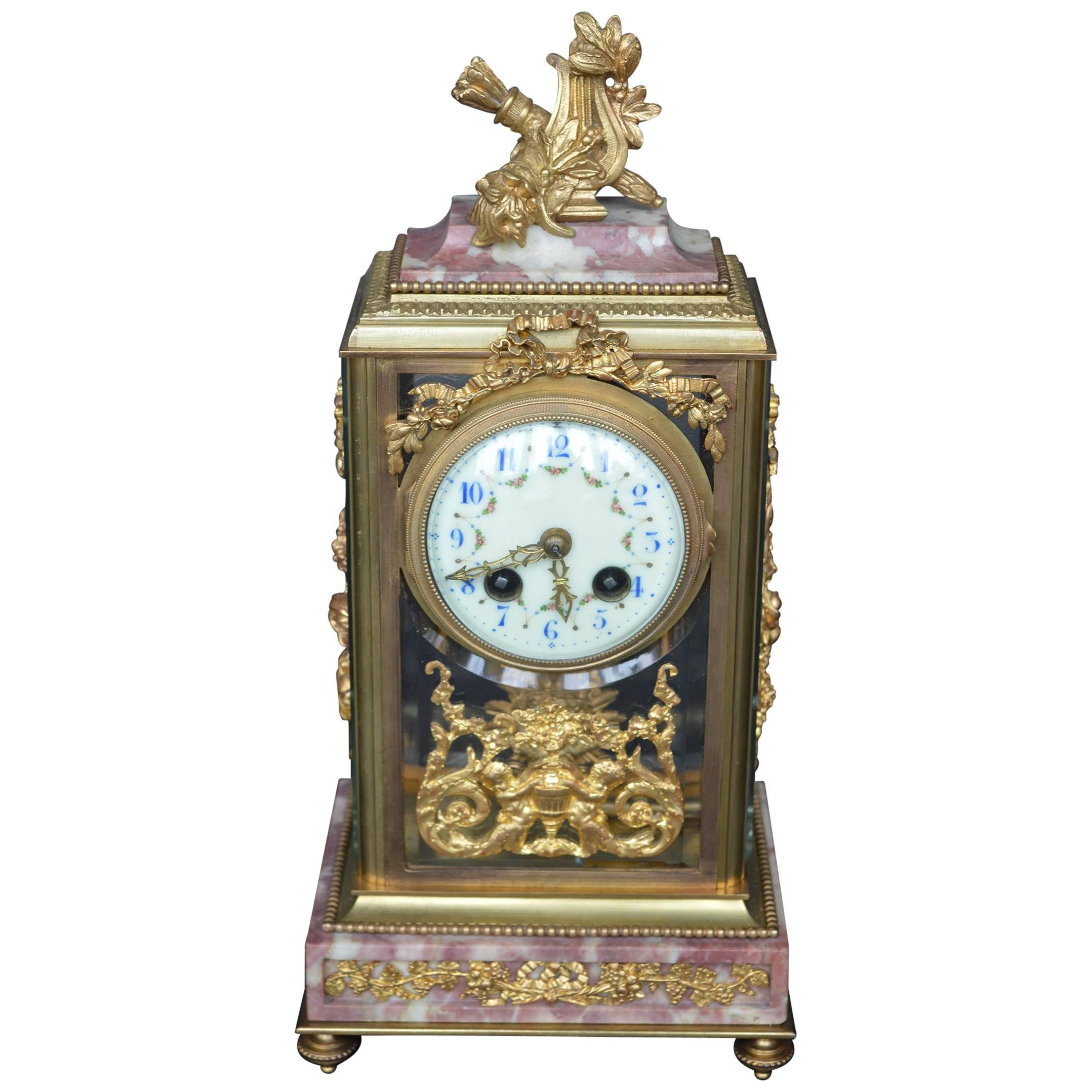 19th Century Empire Style Clock