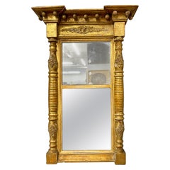 19th Century Empire Style Wall or Table Mirror