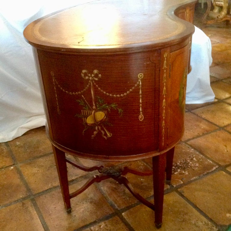 19th Century English Adam Style Vanity For Sale 9