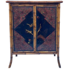 19th Century English Aesthetic Movement Bamboo and Lacquer
