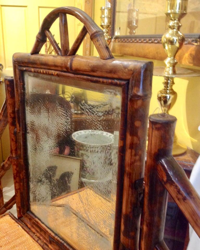 19th Century English Bamboo Cottage Dresser 7