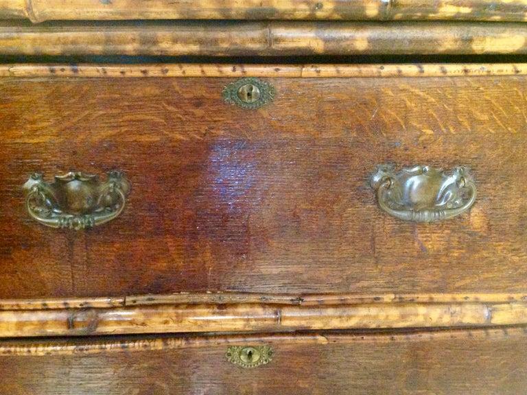 19th Century English Bamboo Cottage Dresser 8