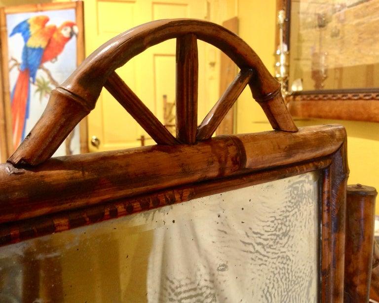 19th Century English Bamboo Cottage Dresser 9