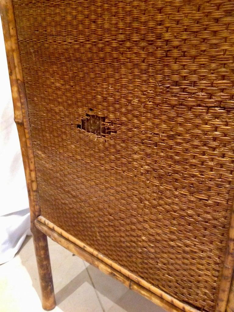 19th Century English Bamboo Cottage Dresser 13