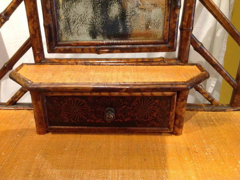 19th Century English Bamboo Cottage Dresser 2