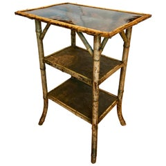19th Century English Bamboo Occasional Table