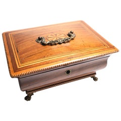 19th Century English Bombay Table Box