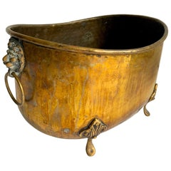 19th Century English Brass Jardinière Planter
