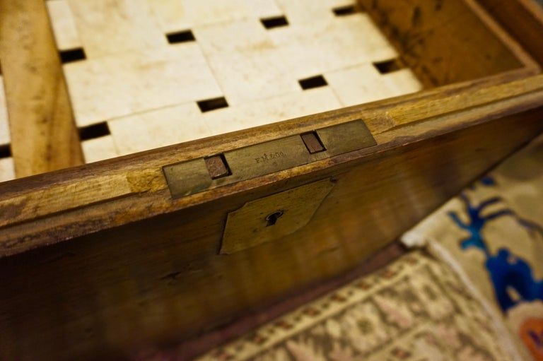 19th Century English Camphor Campaign Chest For Sale 10