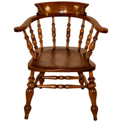 19th Century English Captain's Chair