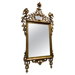 19th Century English Carved and Giltwood Mirror
