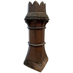 19th Century English Chimney Pot