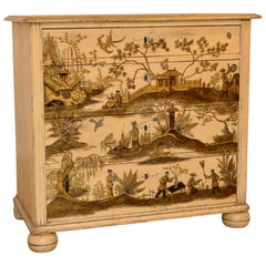 19th Century English Chinoiserie Chest