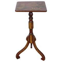 19th Century English Chinoiserie Side Table