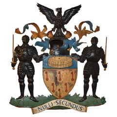 19th Century English Coat of Arms