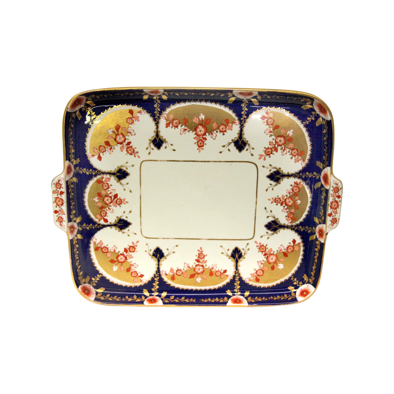 19th Century English Copeland Porcelain Serving Tray
