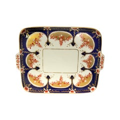 19th Century English Copeland Porcelain Serving Tray