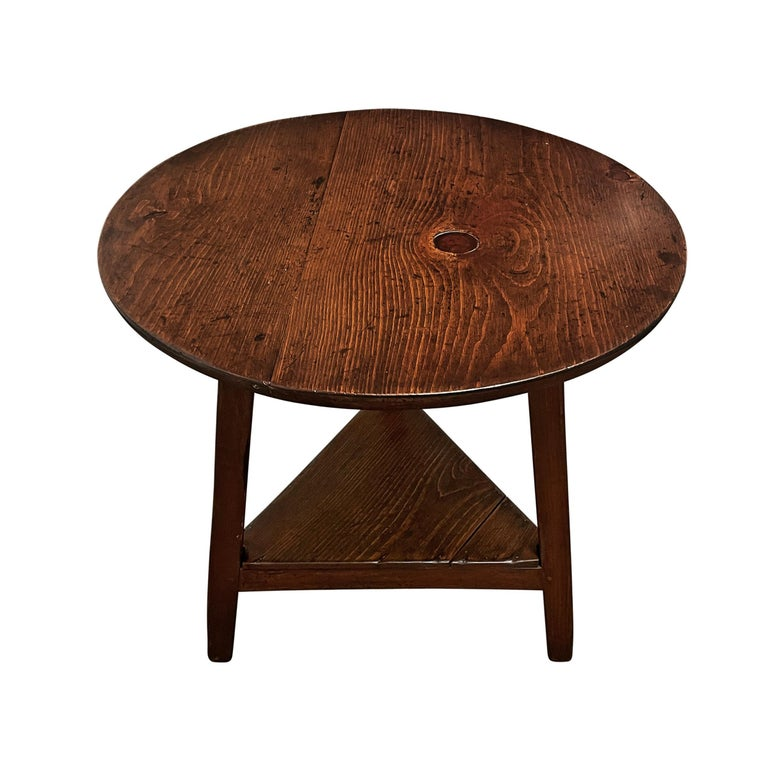 Rustic 19th Century English Cricket Table For Sale