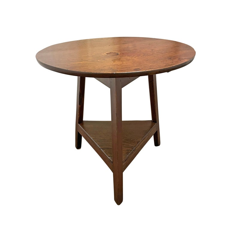 19th Century English Cricket Table In Good Condition For Sale In Chicago, IL