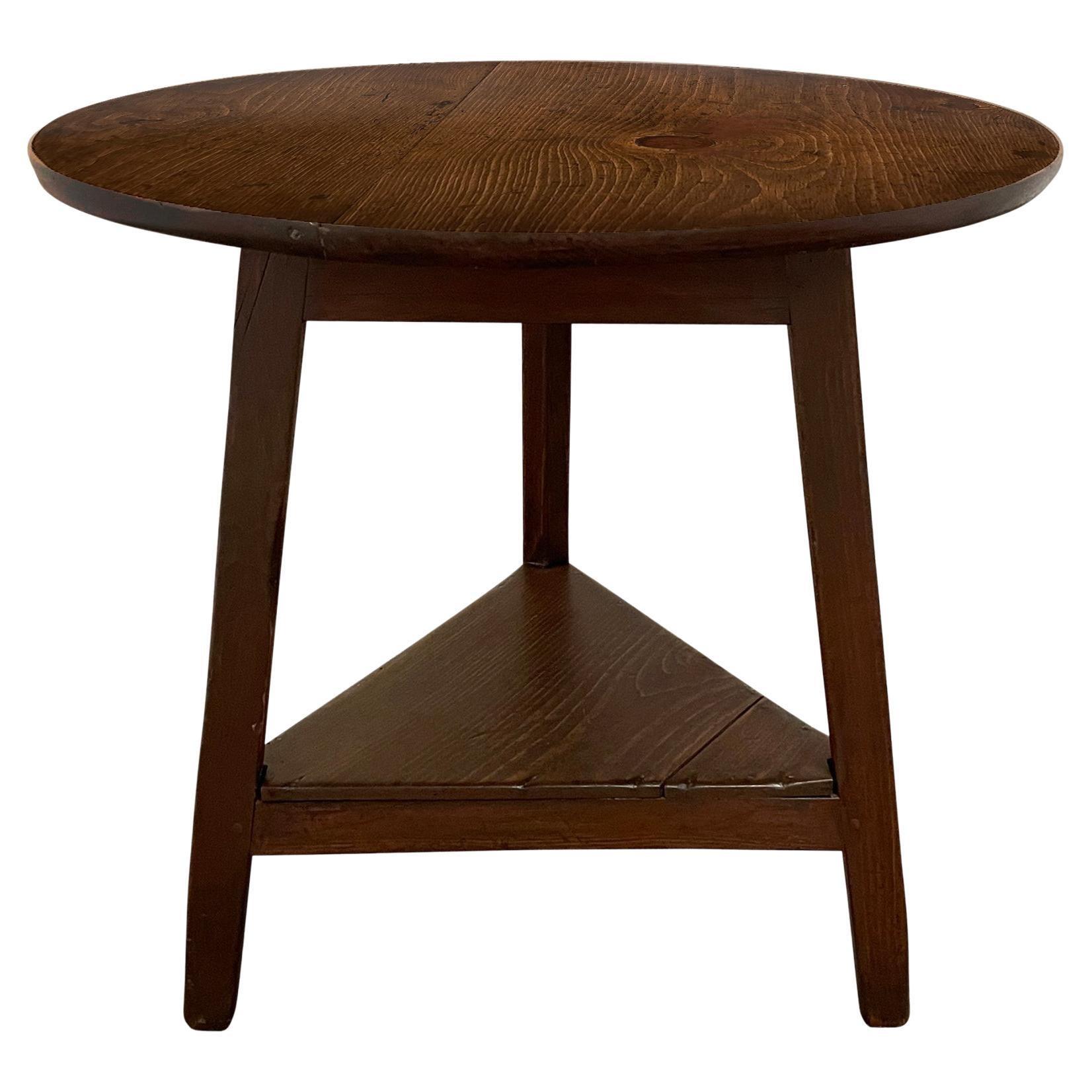 19th Century English Cricket Table