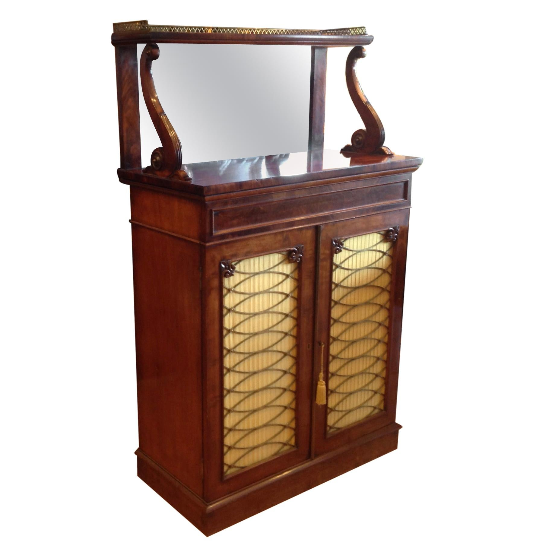 19th Century English Dry Bar / Chiffonier
