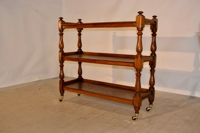 Victorian 19th Century English Dumbwaiter For Sale