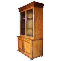 19th Century English Dwarf Bookcase circa 1880 in Golden Oak