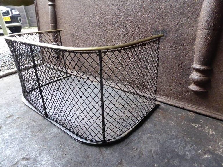19th Century English Fire Guard For Sale 3