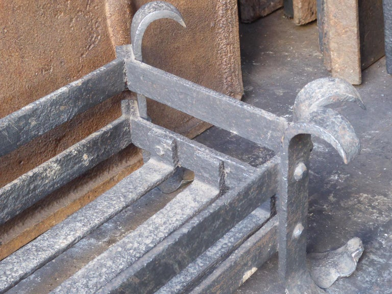 19th Century English Fireplace Grate or Fire Grate For Sale 3