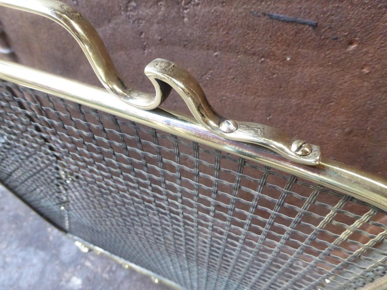 19th Century English Fireplace Screen or Fire Screen For Sale 3