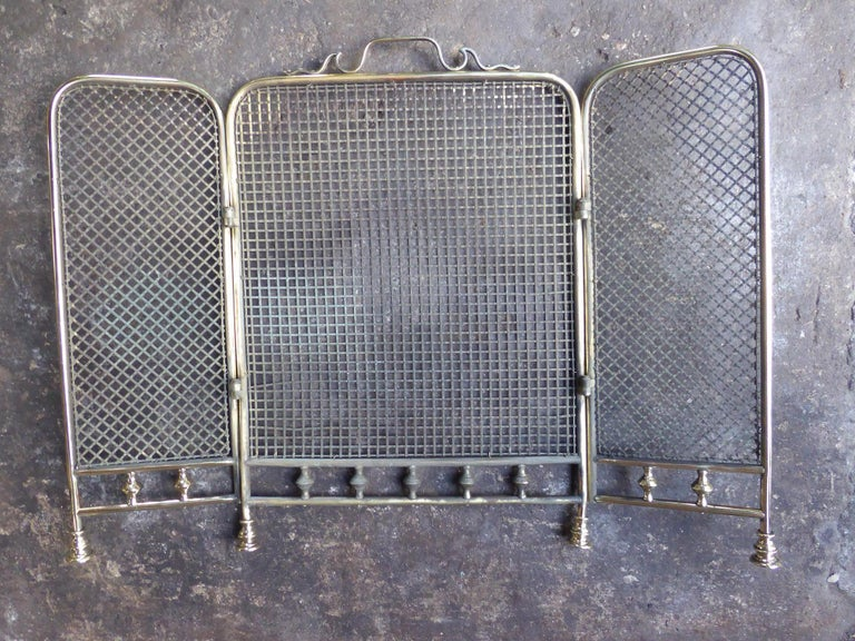 19th Century English Fireplace Screen or Fire Screen For Sale 4