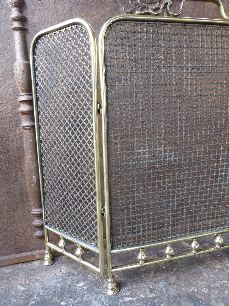 19th Century English Fireplace Screen or Fire Screen For Sale 1