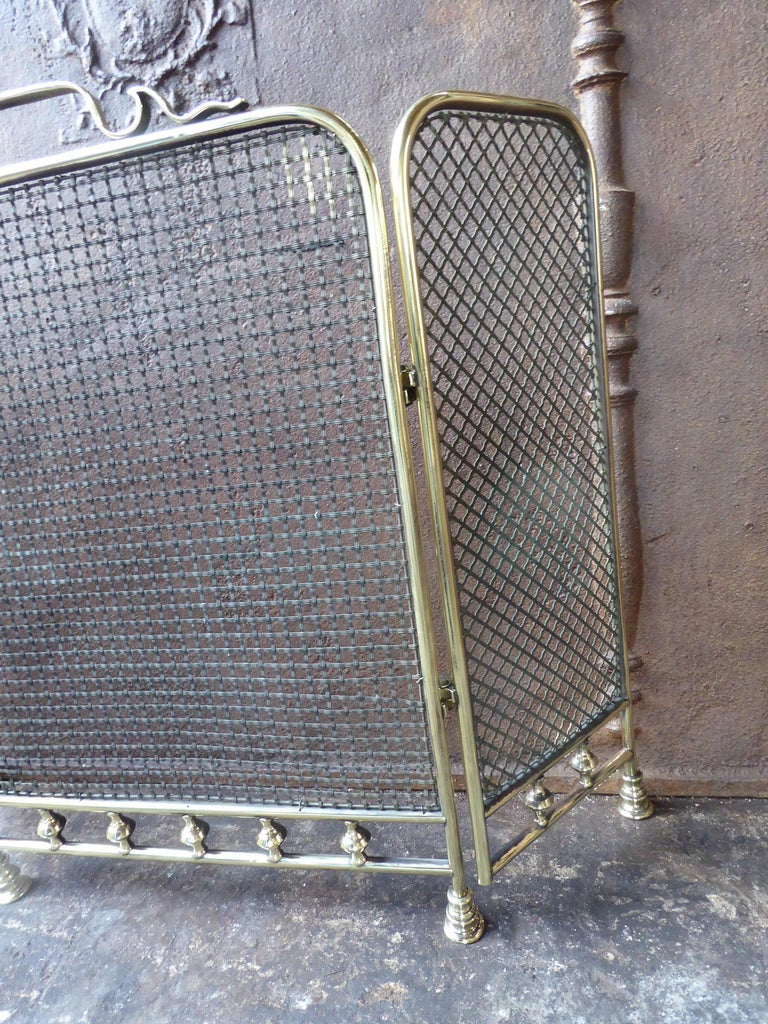 19th Century English Fireplace Screen or Fire Screen For Sale 2