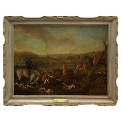 19th Century English Fox Hunt, Henry Alken Senior, Attributed